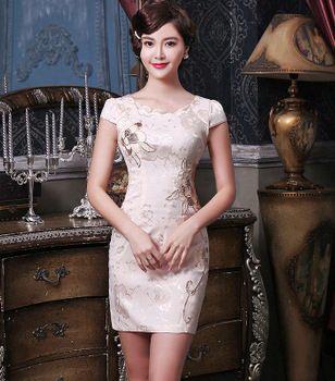 Вечерние китайские платья